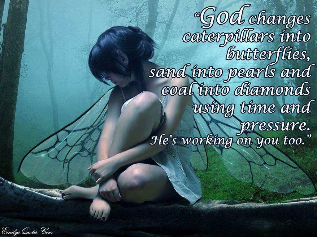 EmilysQuotes.Com - God, change, amazing, great, positive, faith