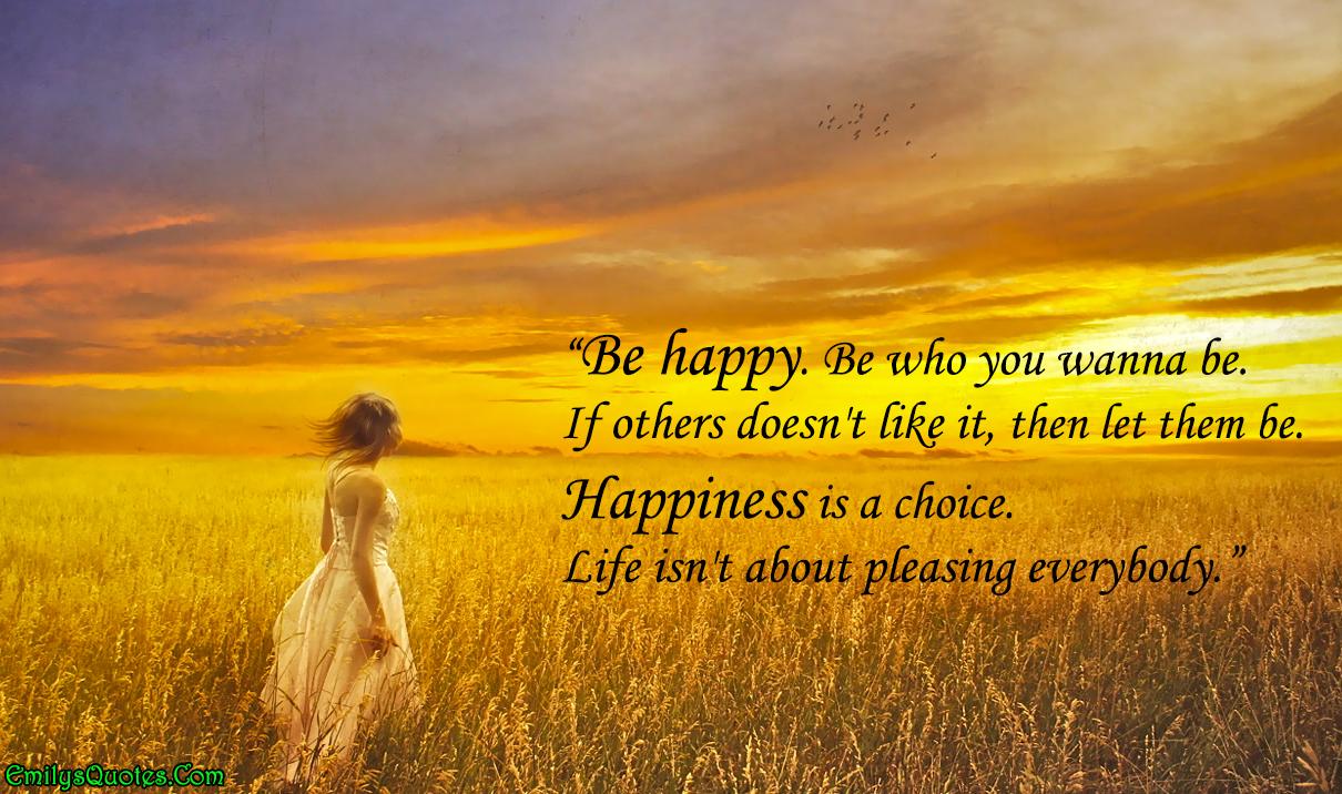 EmilysQuotes.Com - Happiness, positive, life, Letting go quotes