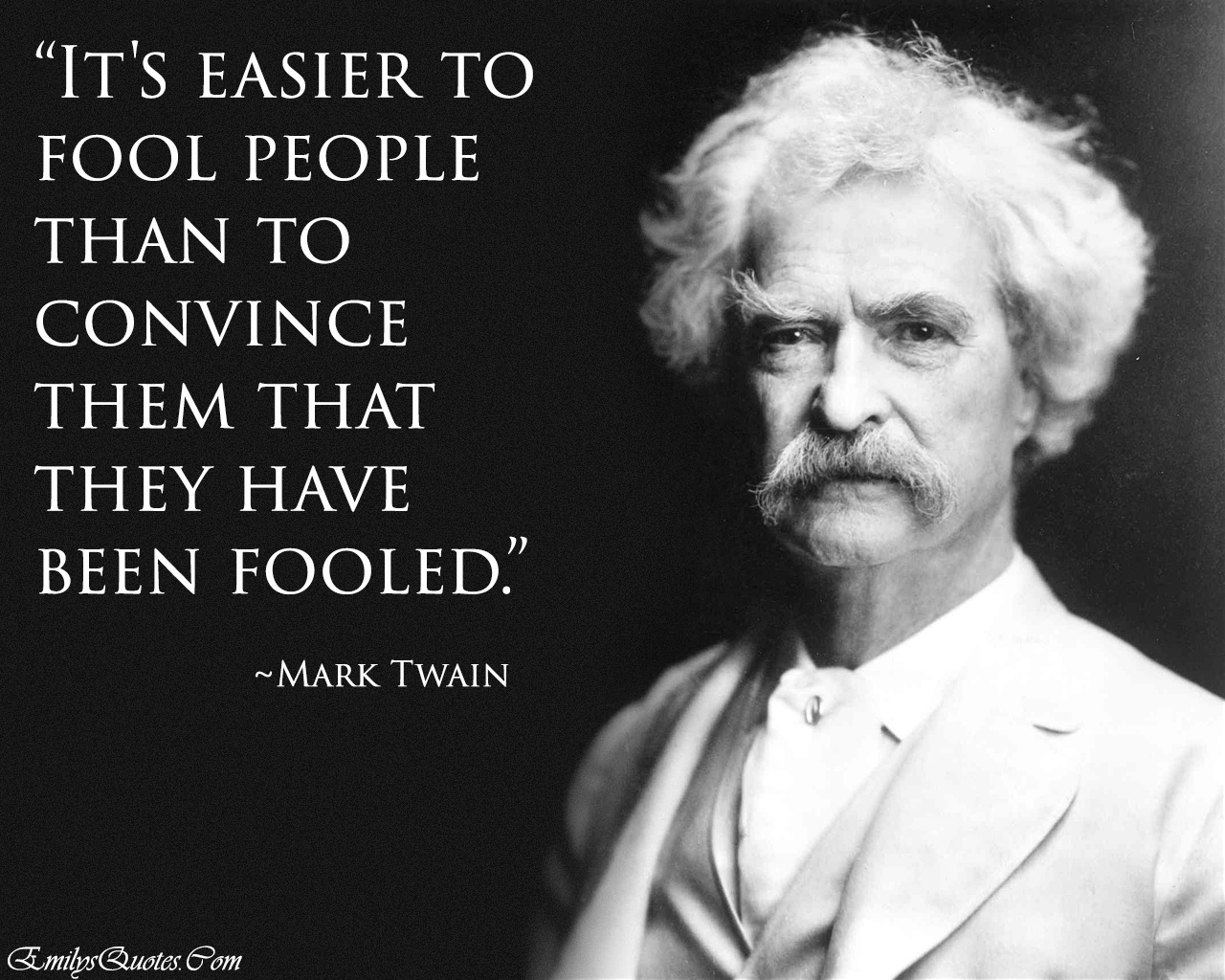 EmilysQuotes.Com - Intelligence, teacher, Mark Twain