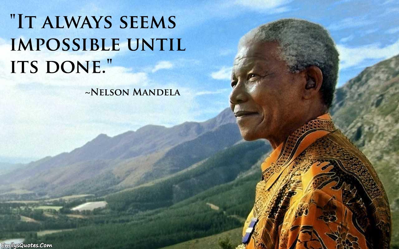 EmilysQuotes.Com - Nelson Mandela, inspirational, amazing
