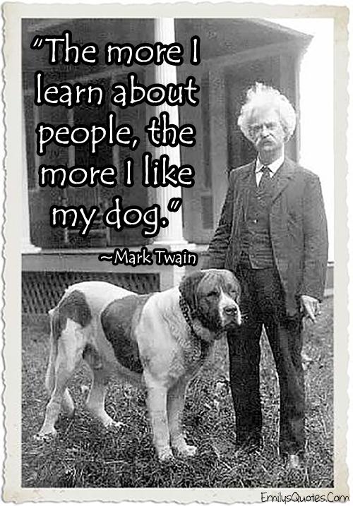 EmilysQuotes.Com - funny, relationship, people, experience, Mark Twain