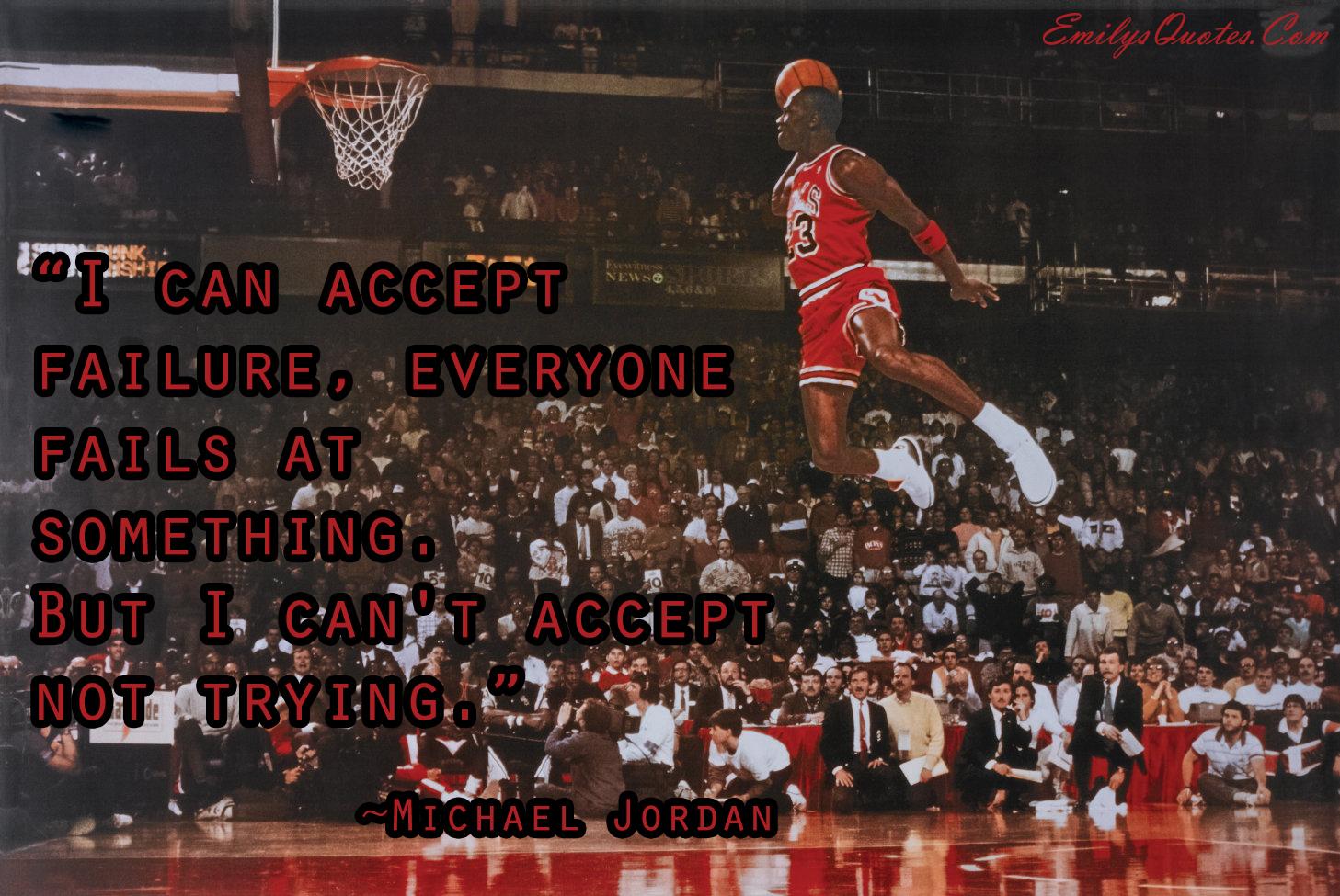 EmilysQuotes.Com - inspirational, motivational, great, Michael Jordan, failure