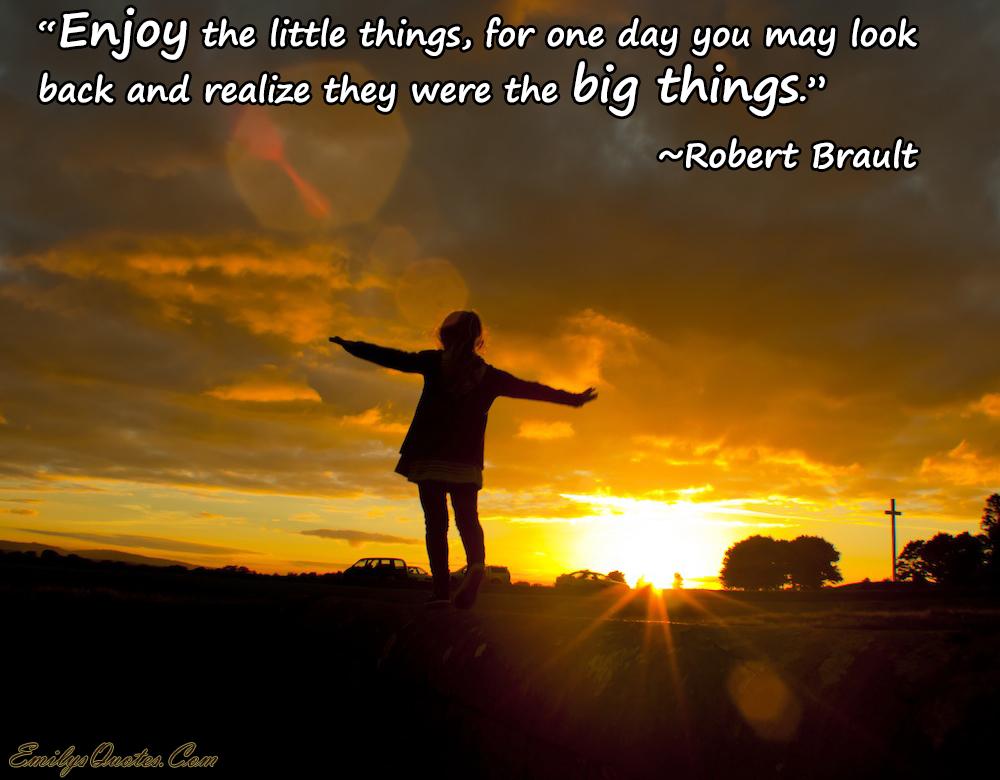 EmilysQuotes.Com - life, enjoy, wisdom, Robert Brault