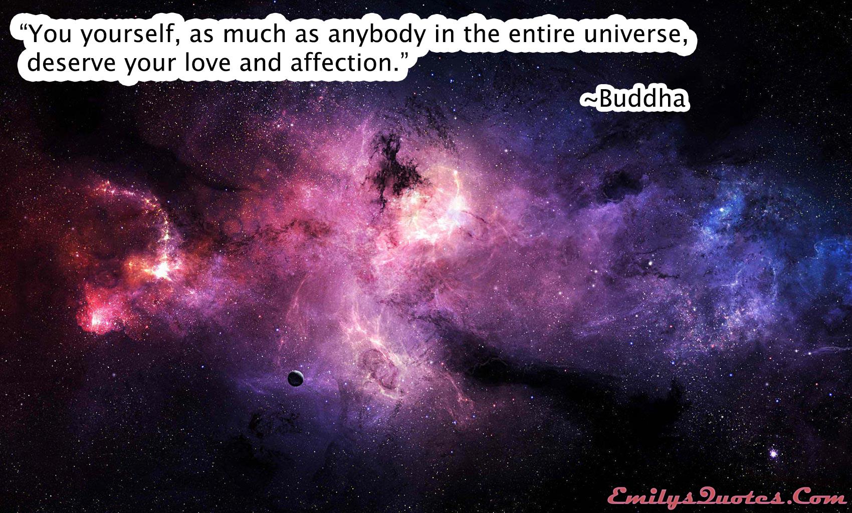 EmilysQuotes.Com - love, affection, wisdom, buddha