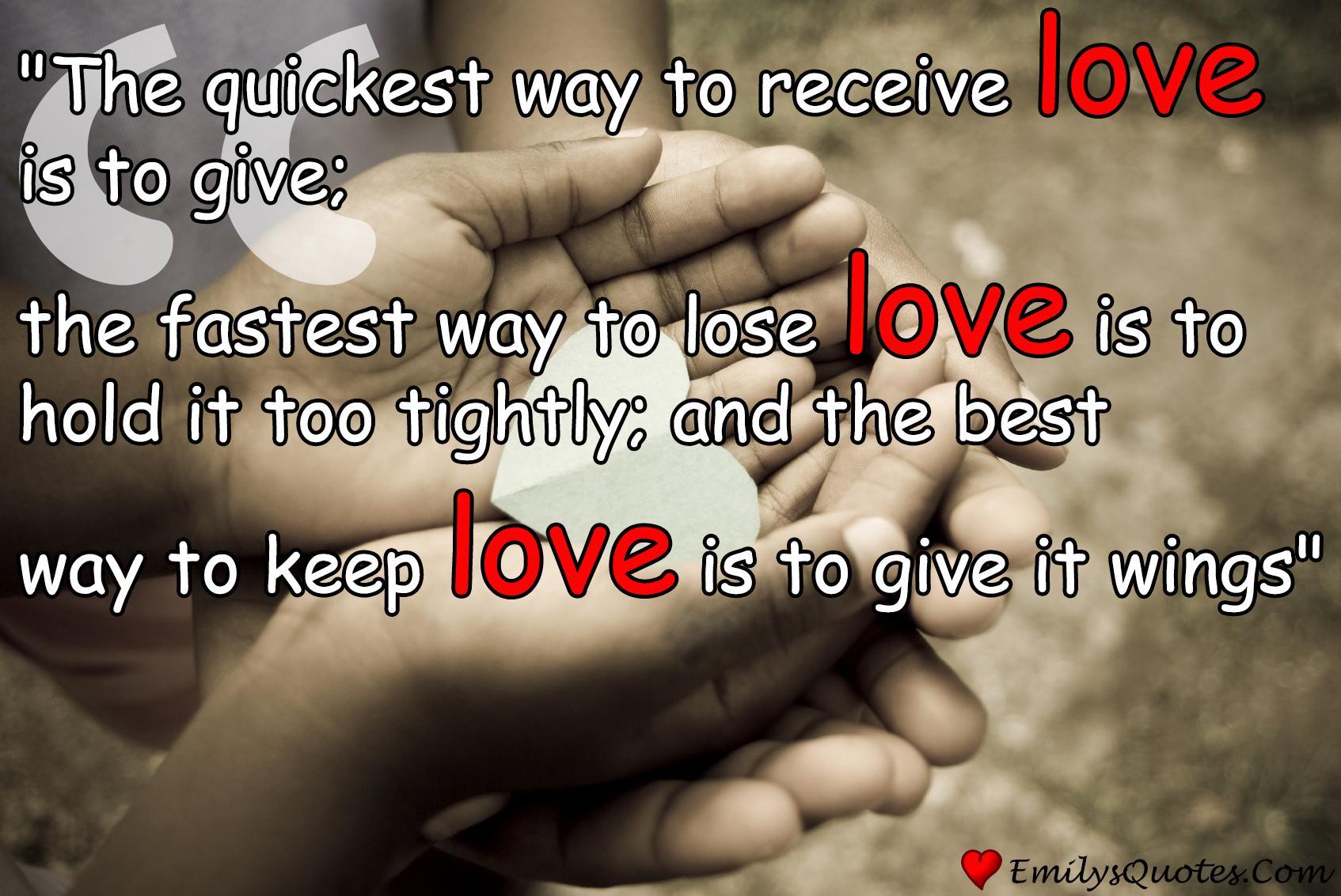EmilysQuotes.Com - love, romantic, positive