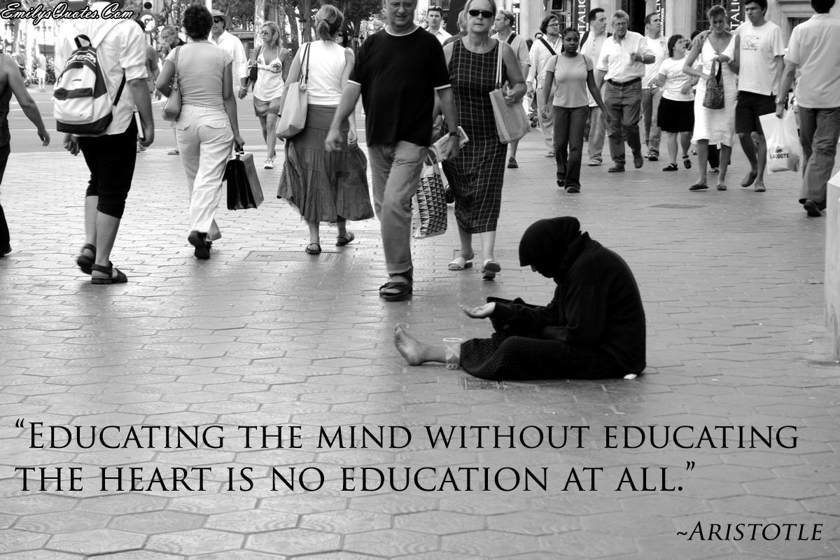 EmilysQuotes.Com - wisdom, education, mind, heart, teacher, intelligence, Aristotle