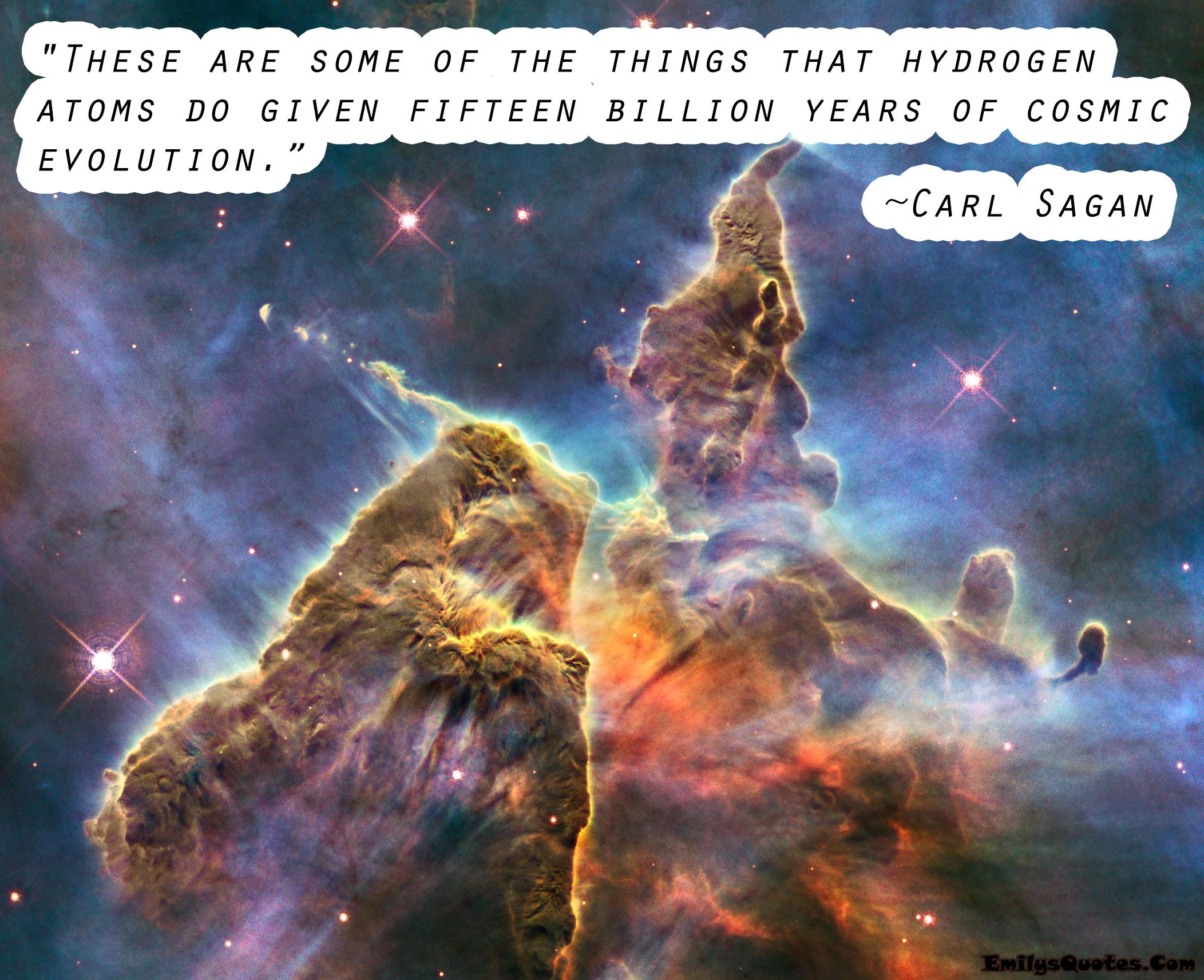 EmilysQuotes.Com - wisdom, science, time, carl sagan