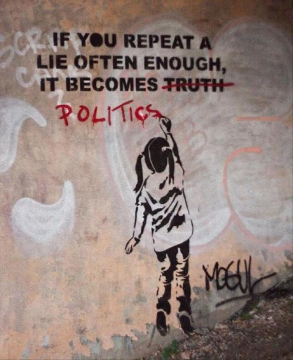 lies, politics