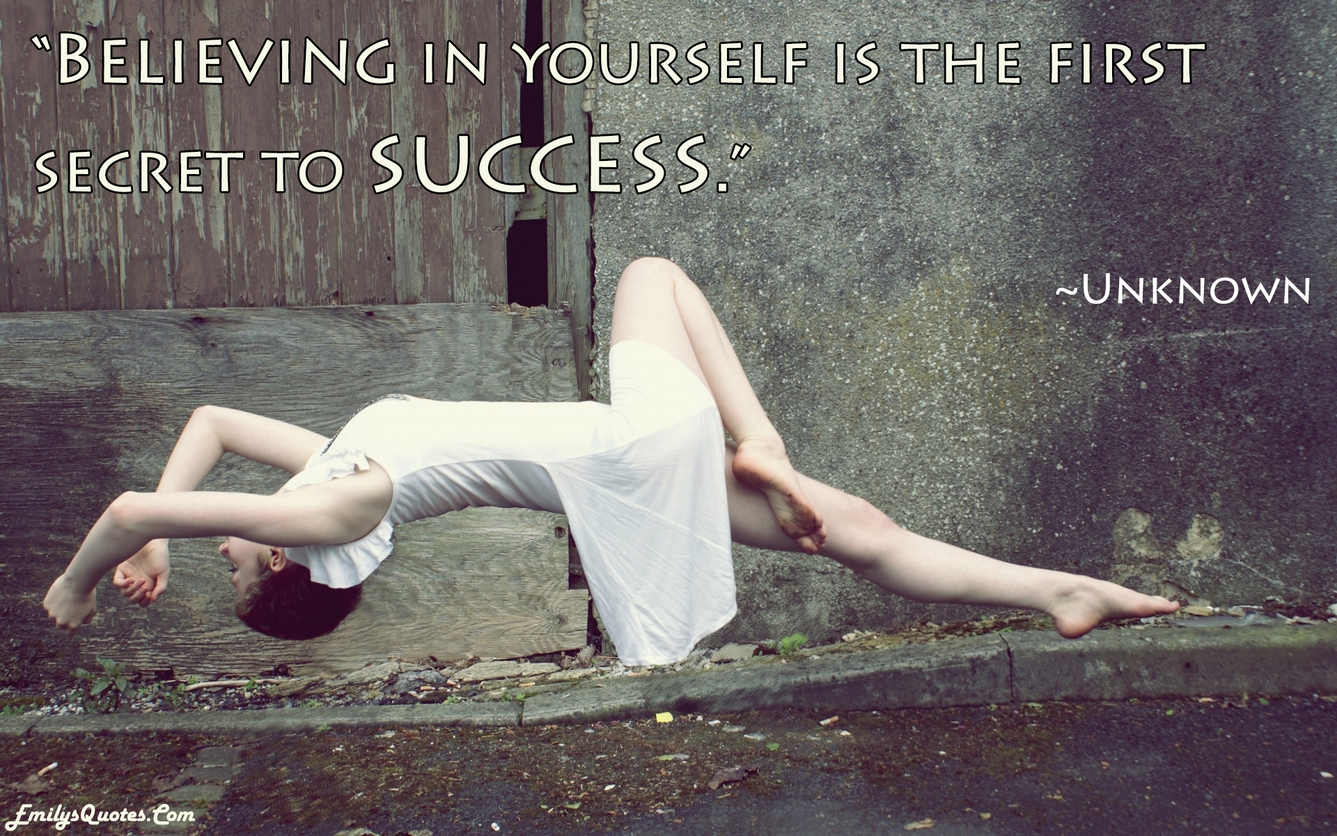 EmilysQuotes.Com - Motivational, Inspirational, success, amazing, great, believing, unknown
