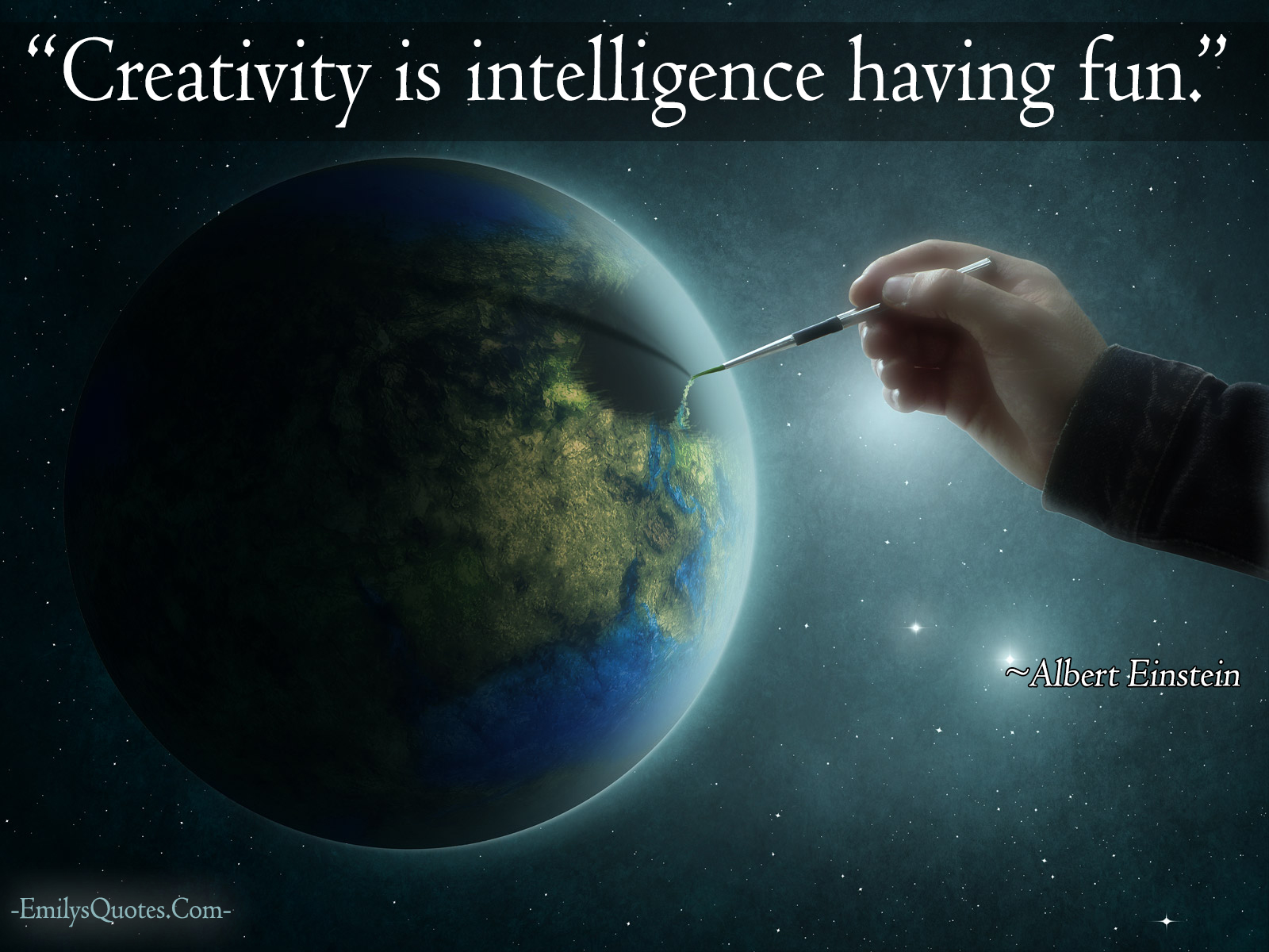 EmilysQuotes.Com - creativity, intelligence, wisdom,  Albert Einstein, fun