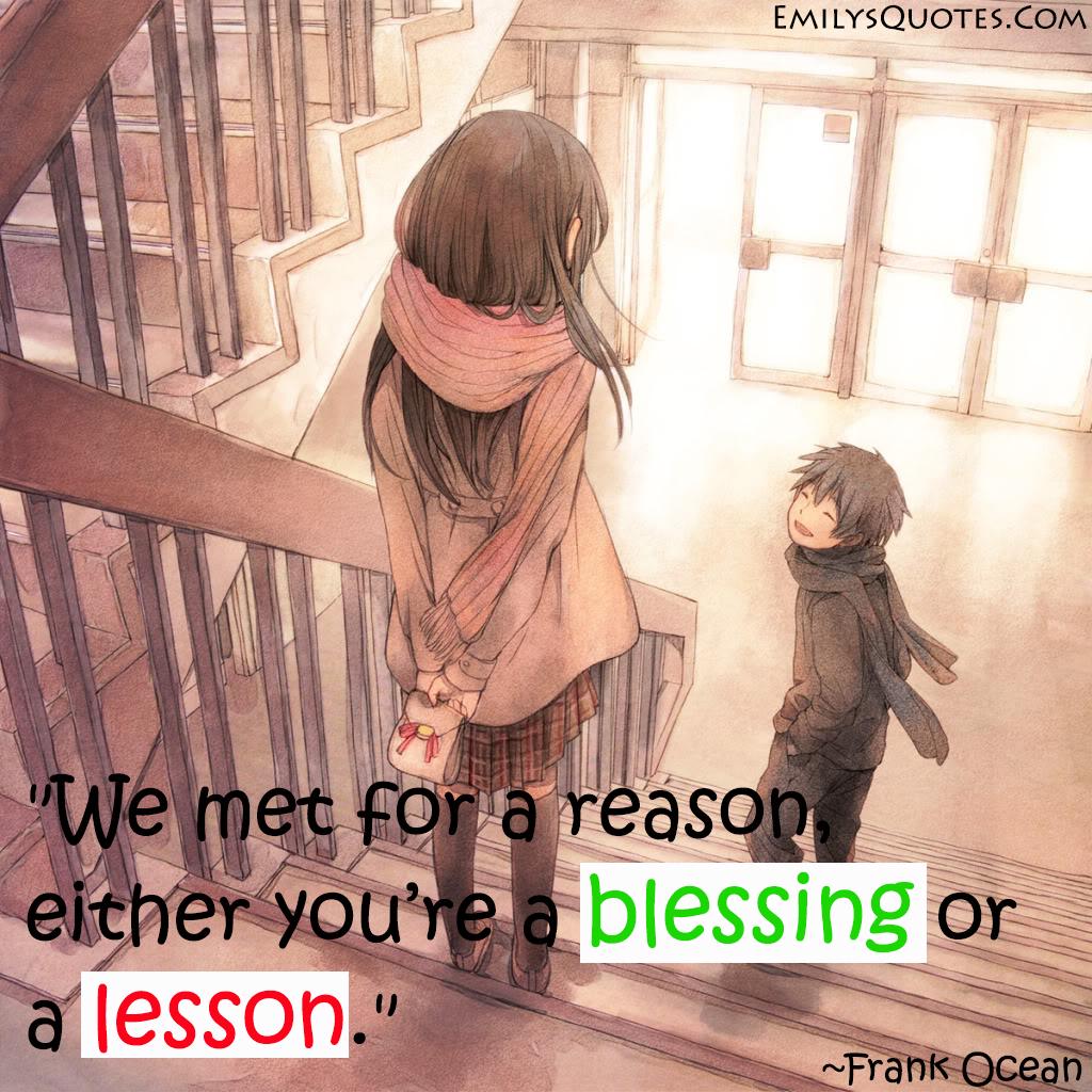 EmilysQuotes.Com - lesson, reason, Frank Ocean