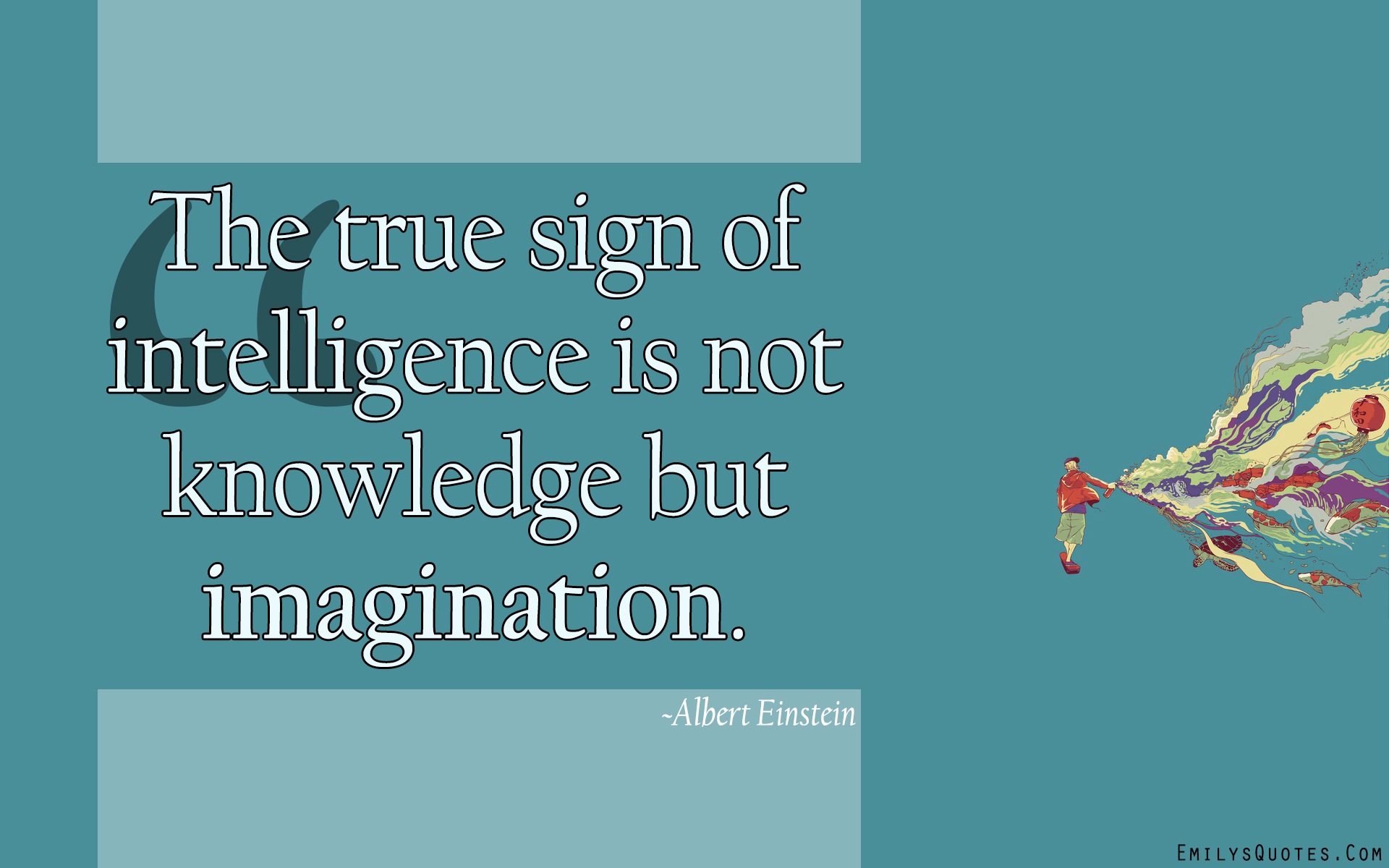 EmilysQuotes.Com - truth, wisdom, intelligence, knowledge, imagination, Albert Einstein, truth