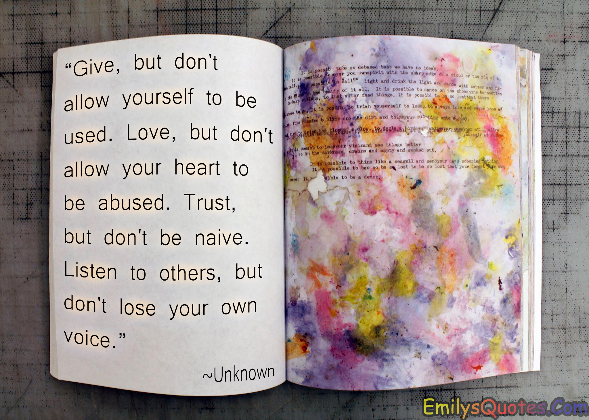 Quotes About Trust And Love In Relationships Give But Don't Allow Yourself To Be Usedlove But Don't Allow