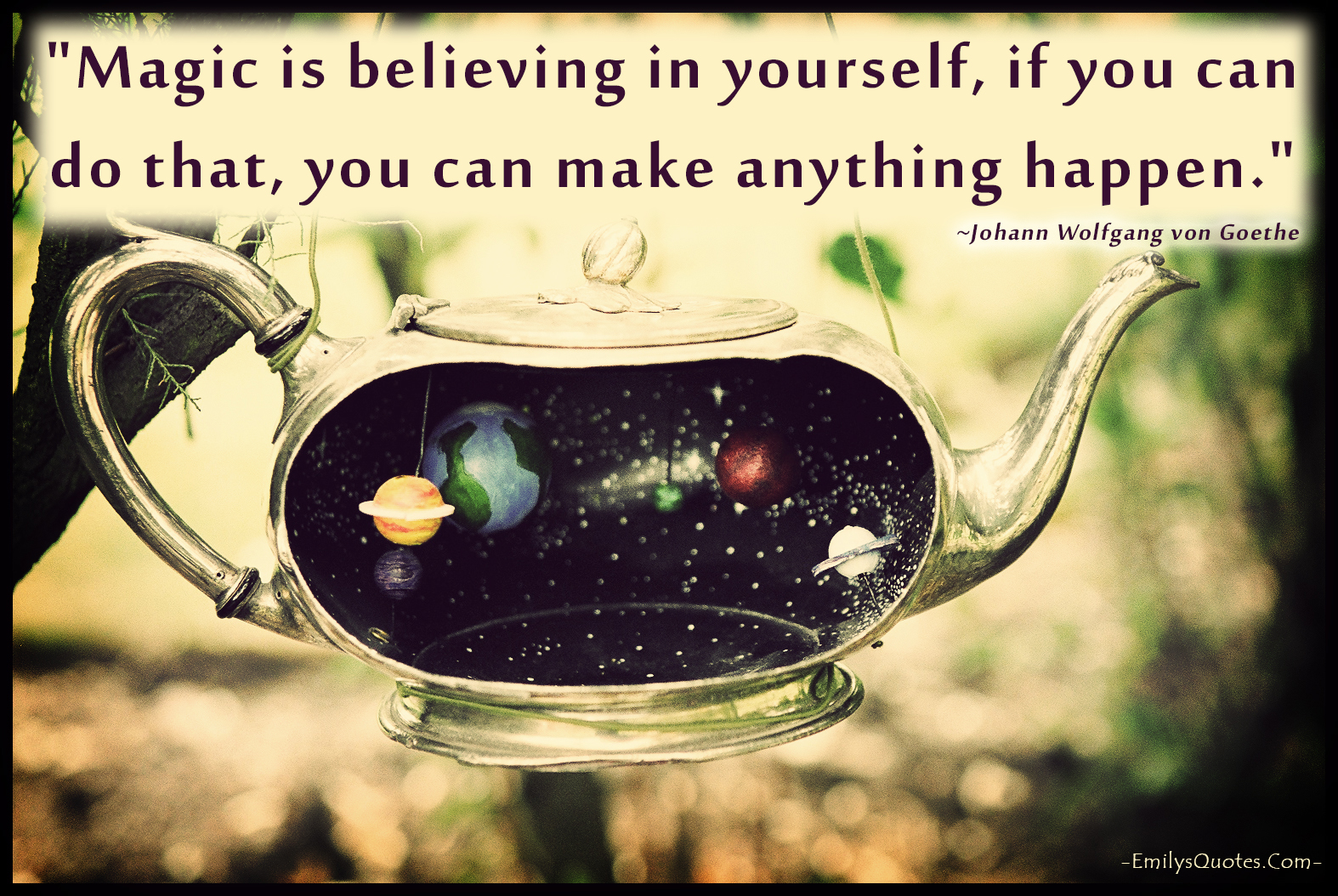 Com   Johann Wolfgang Von Goethe, Magic, Believe Yourself, Inspirational,