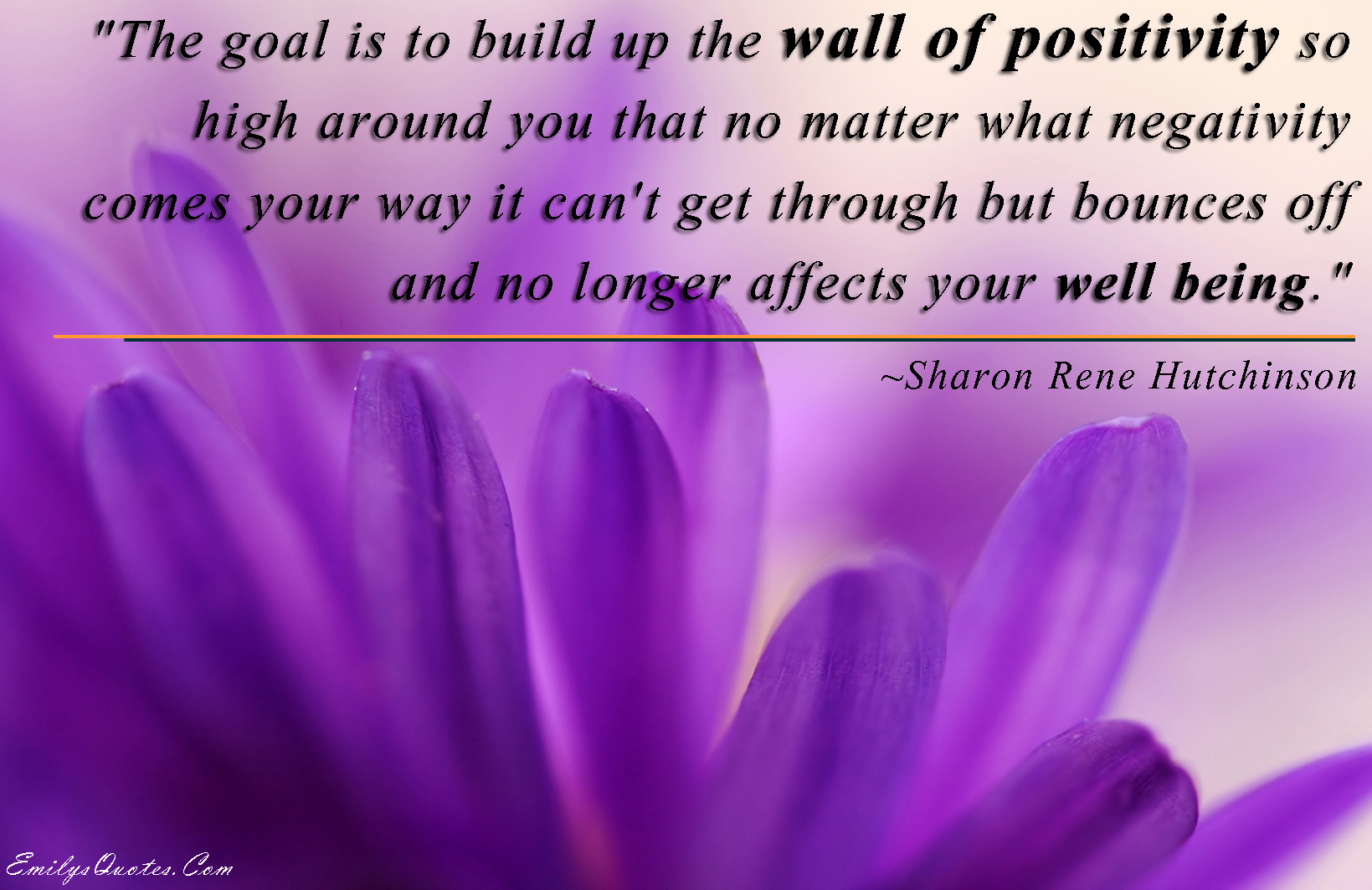 EmilysQuotes.Com - amazing, great, Sharon Rene Hutchinson, goal, positive, inspirational, negative