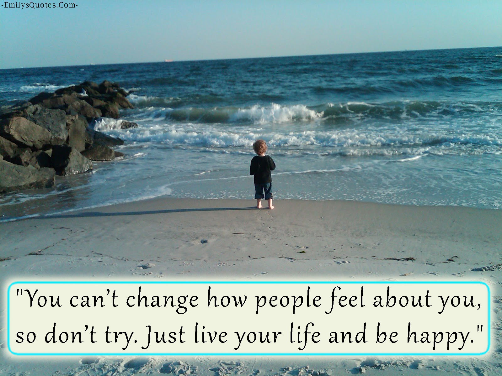 EmilysQuotes.Com - change, people, feel, life, happy, inspirational, moving on, unknown, relationship