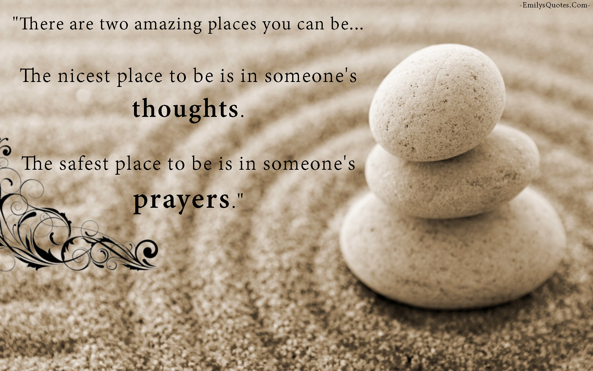 EmilysQuotes.Com - thoughts, safe, prayers, inspirational, positive, unknown