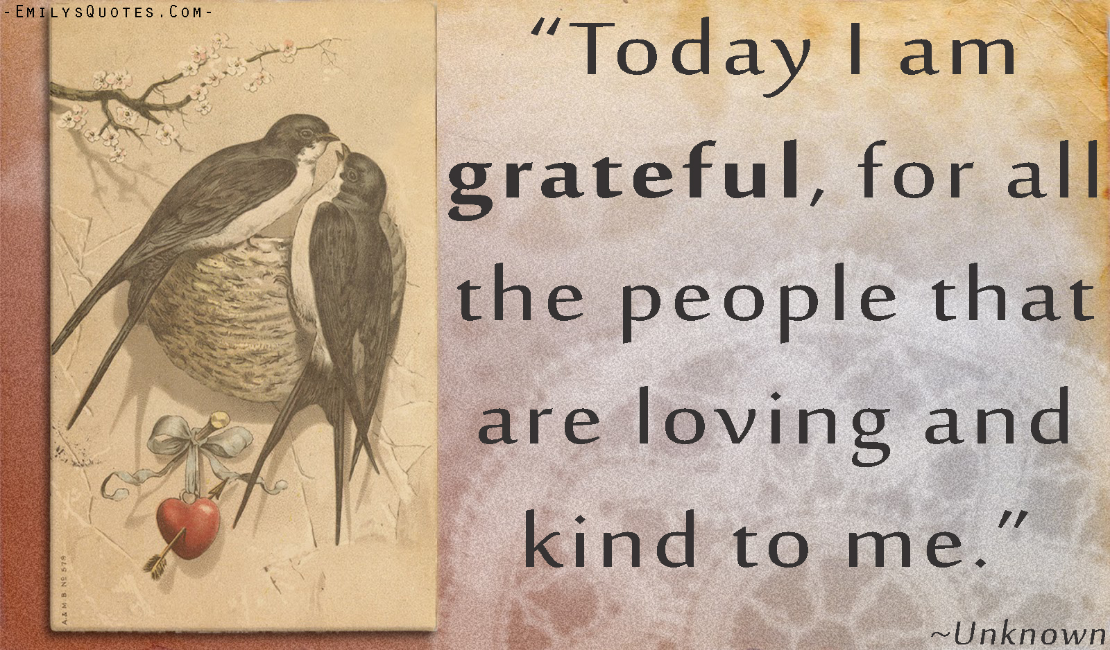 EmilysQuotes.Com - unknown, thankful, grateful, positive, love, kindness, people, relationship
