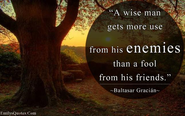 emilysquotes-com-wisdom-enemies-fool-friends-baltasar-gracic3a1n-intelligence