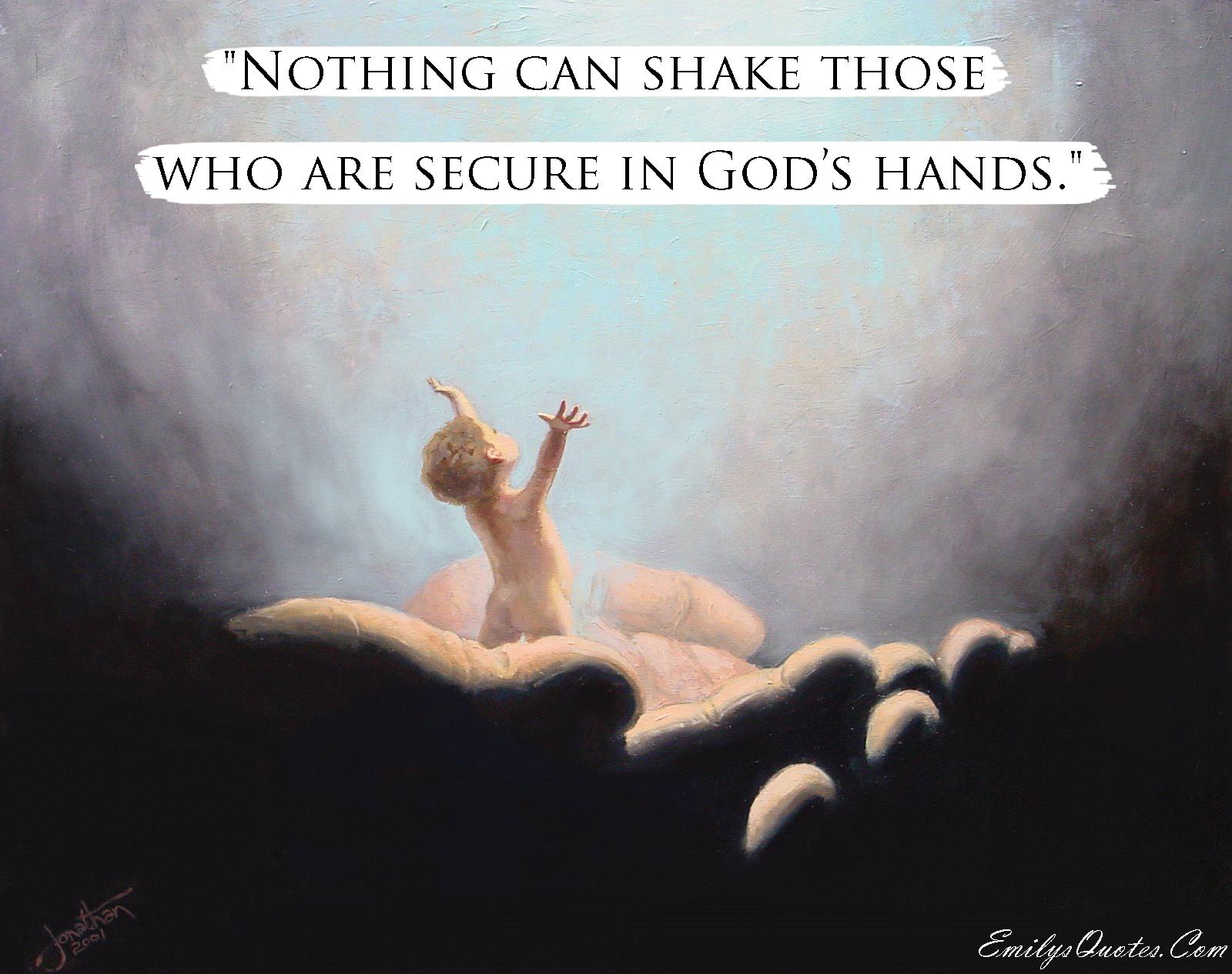 EmilysQuotes.Com - amazing, great, faith, god, shake, inspirational, motivational, unknown