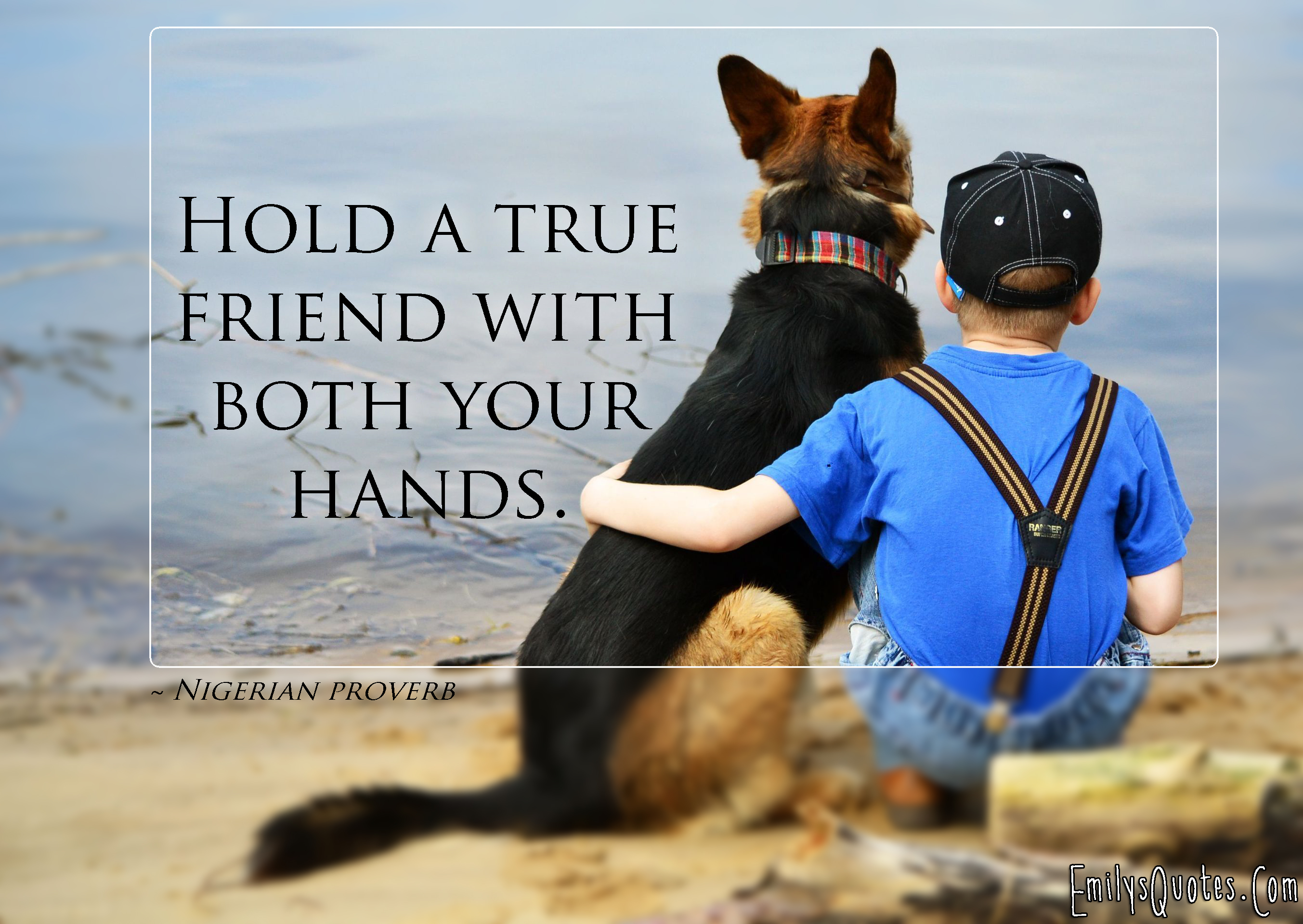 Inspirational Quotes About Friendships Hold A True Friend With Both Your Hands  Popular Inspirational