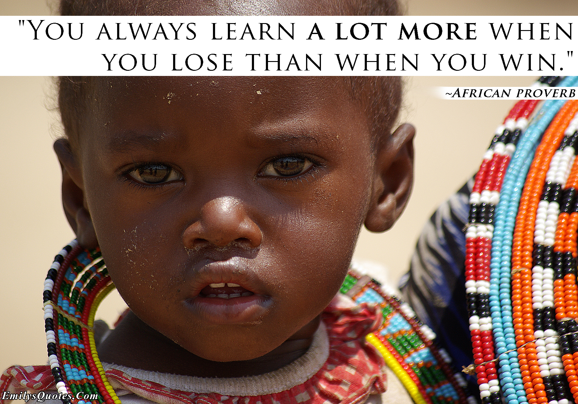 EmilysQuotes.Com - learning, failure, lose, win, African proverb, mistakes