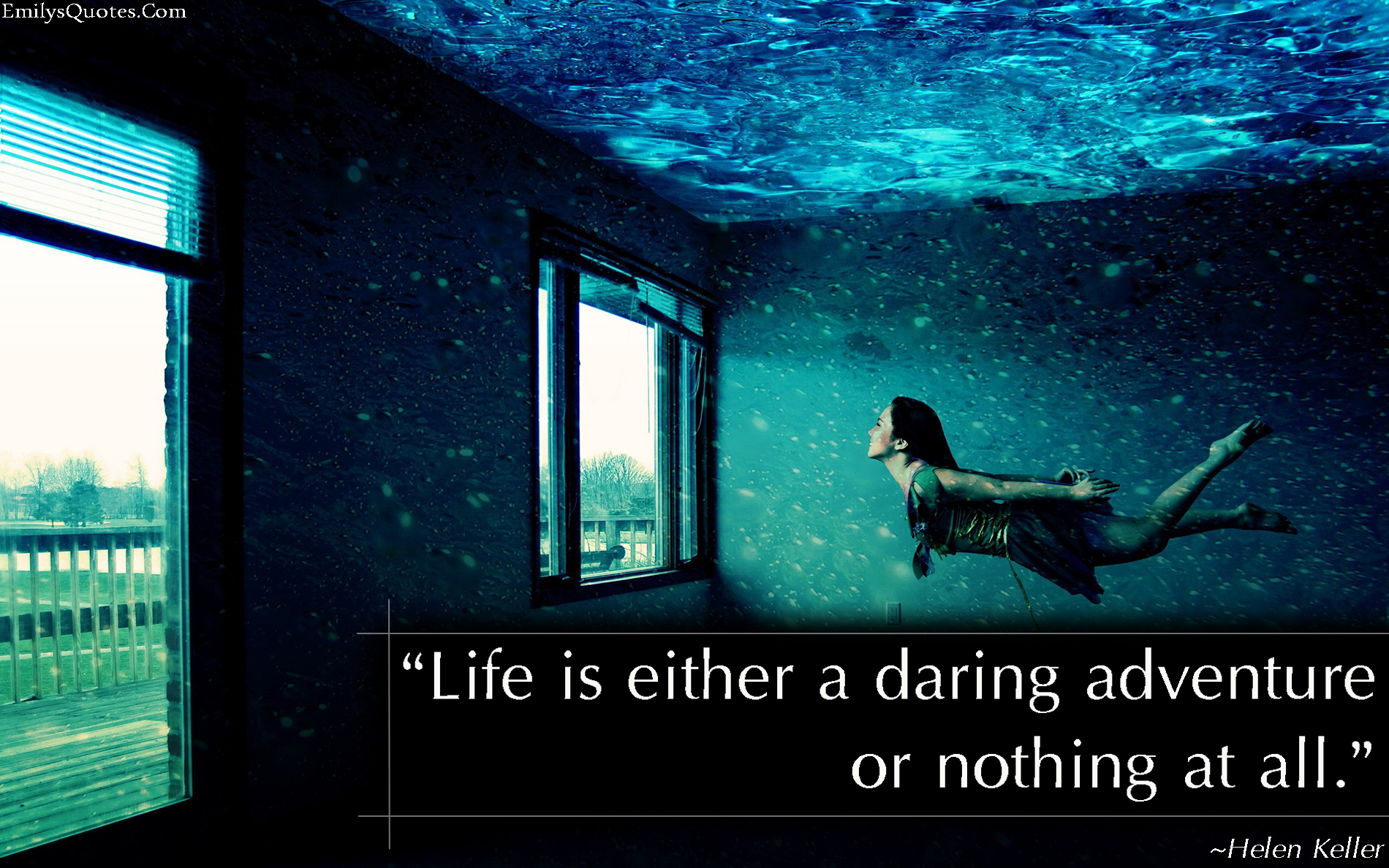 Great Positive Quotes About Life Life Is Either A Daring Adventure Or Nothing At All  Popular