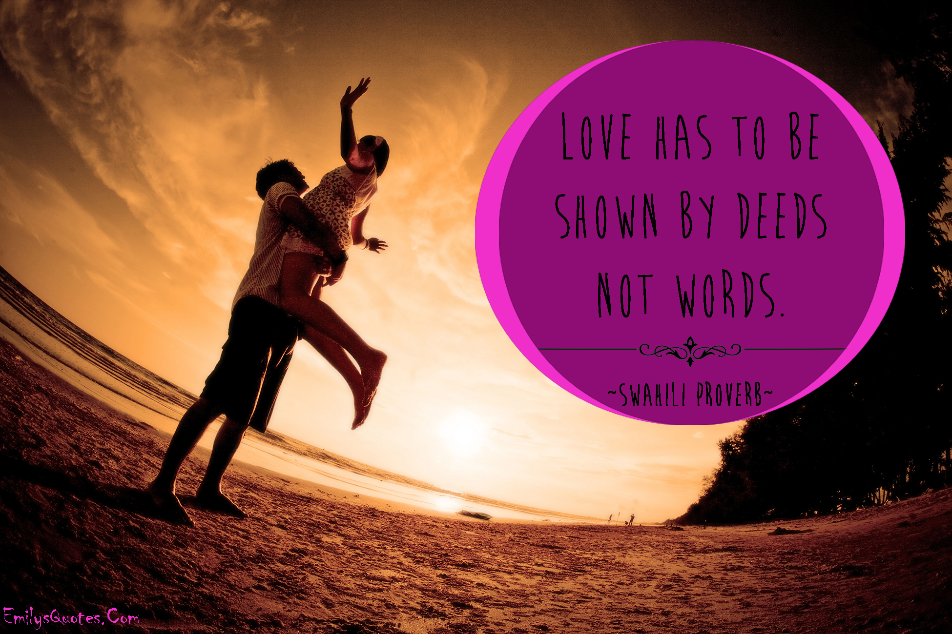 EmilysQuotes.Com - love, romantic, relationship, caring, Swahili proverb