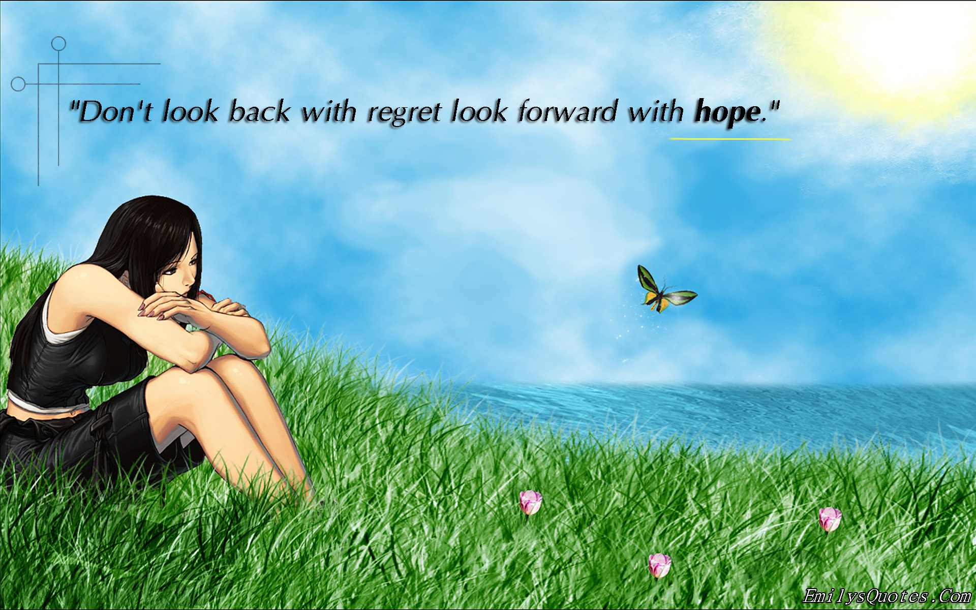 EmilysQuotes.Com - regret, hope, inspirational, choice, encouraging, unknown, positive