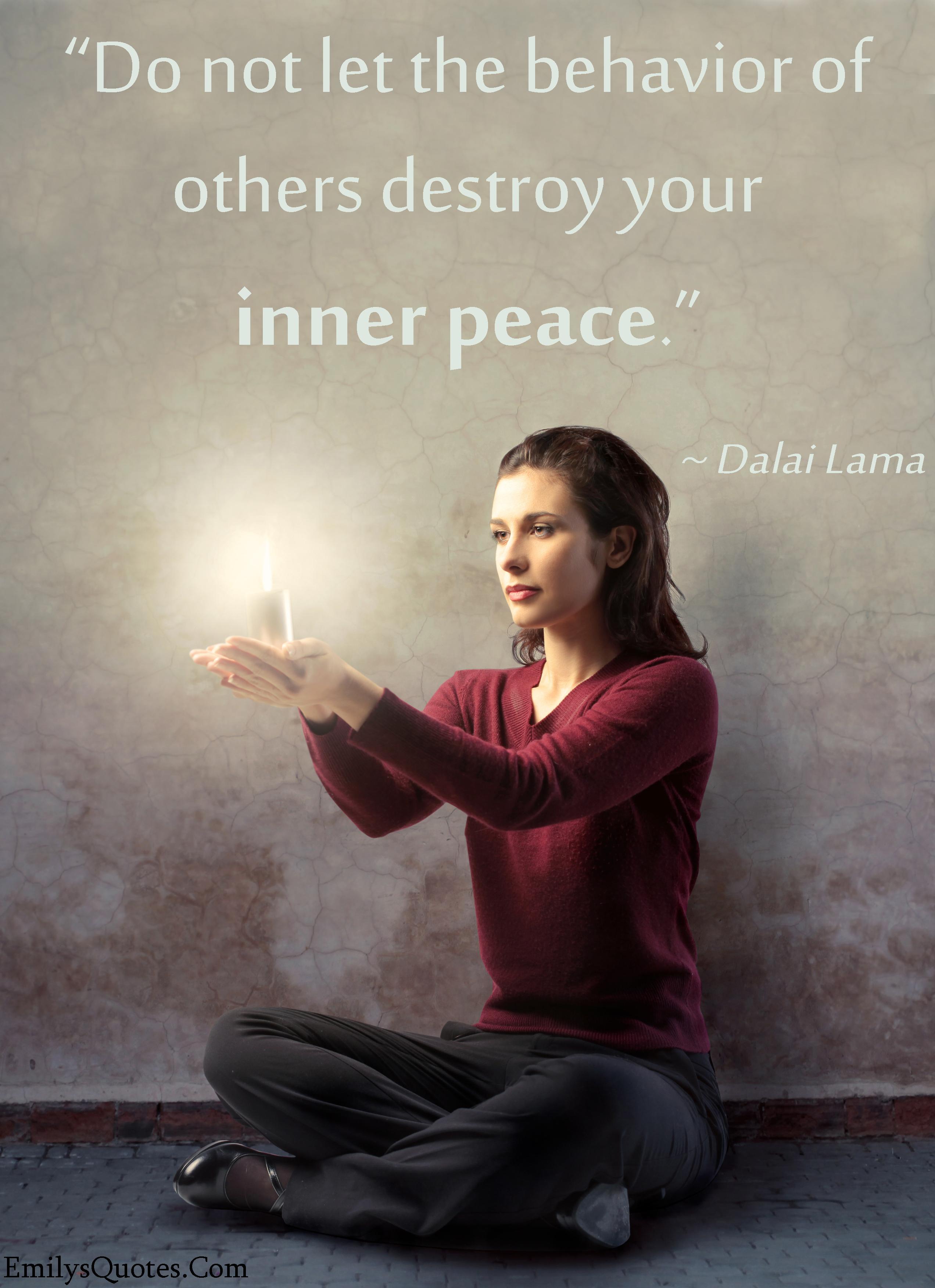 EmilysQuotes.Com - relationship, peace, encouraging, inspirational, Dalai Lama