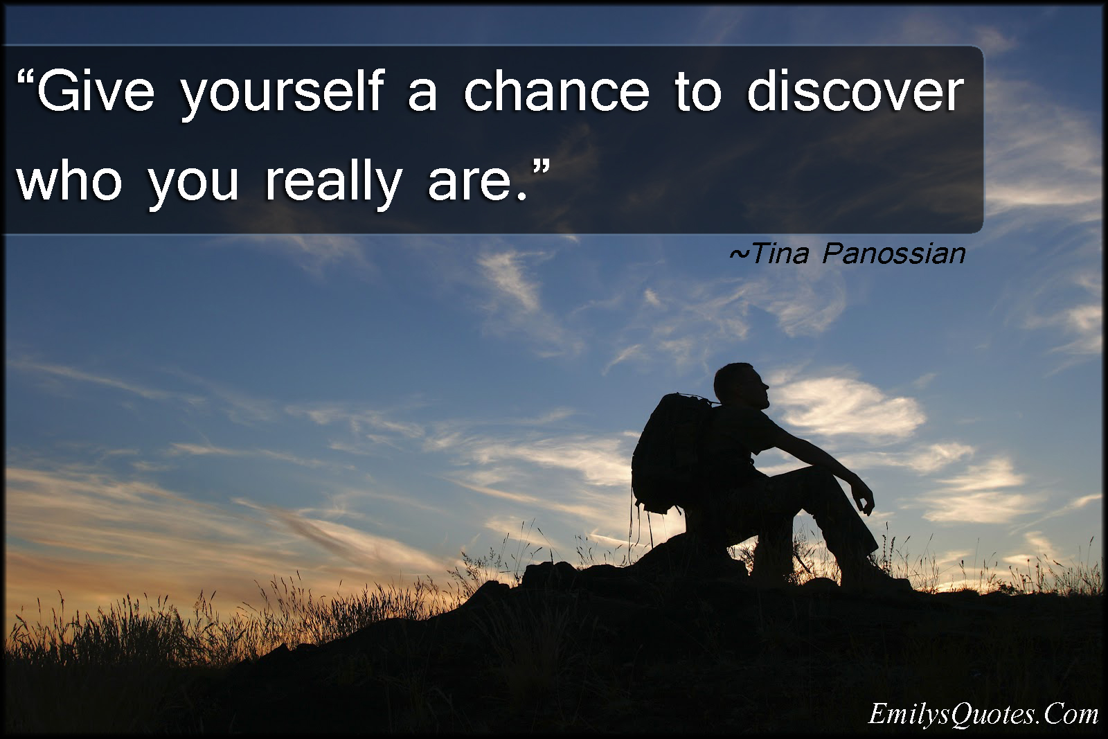 EmilysQuotes.Com - chance, life, inspirational, Tina Panossian