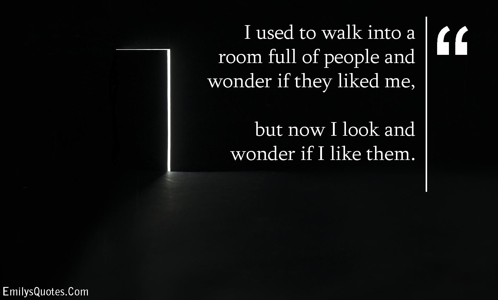 EmilysQuotes.Com - change, relationship, think, wonder, people, unknown