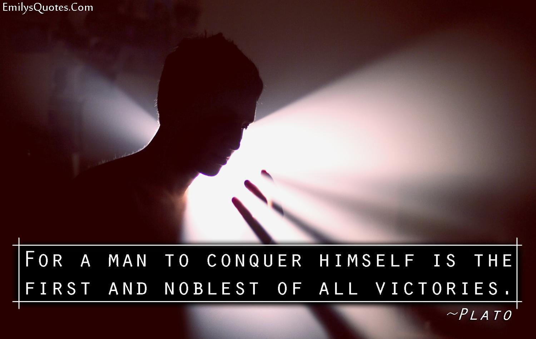 EmilysQuotes.Com - wisdom, conquer, intelligence, Plato