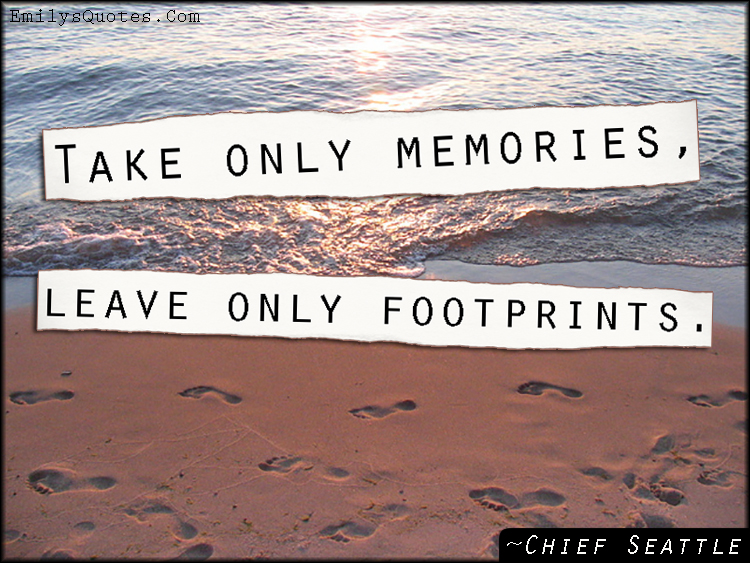 EmilysQuotes.Com - advice, inspirational, amazing, great, wisdom, life, memories, footprints, Chief Seattle, Native American Proverb