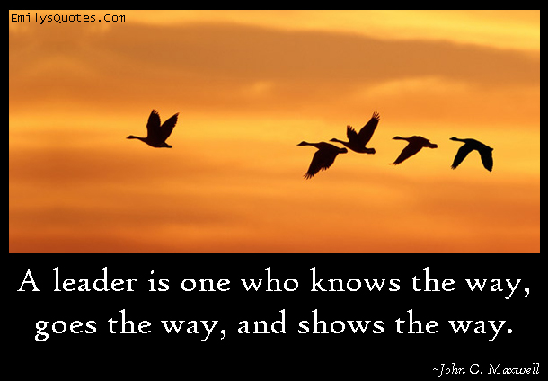 EmilysQuotes.Com - leader, know, inspirational, understanding, motivational, encouraging, John C. Maxwell