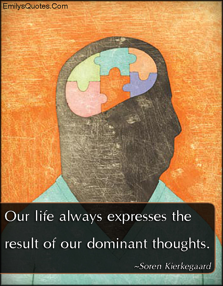 EmilysQuotes.Com - life, thoughts, mind, wisdom, intelligent, consequences, Soren Kierkegaard