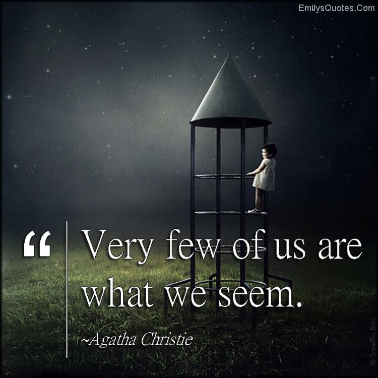 EmilysQuotes.Com - secrets, truth, wisdom, intelligent, understanding, Agatha Christie