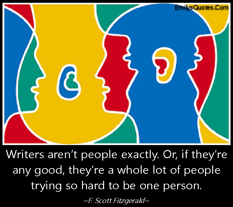 EmilysQuotes.Com - wisdom, intelligent, writers, people, amazing, F. Scott Fitzgerald