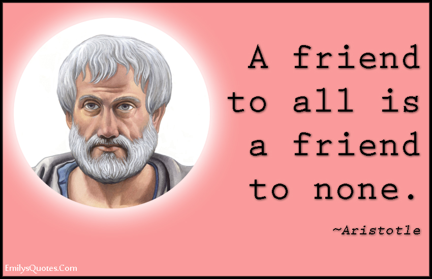 EmilysQuotes.Com - friendship, relationship, intelligent, Aristotle