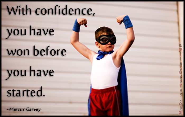 EmilysQuotes.Com - confidence, won, inspirational, motivational, Marcus Garvey