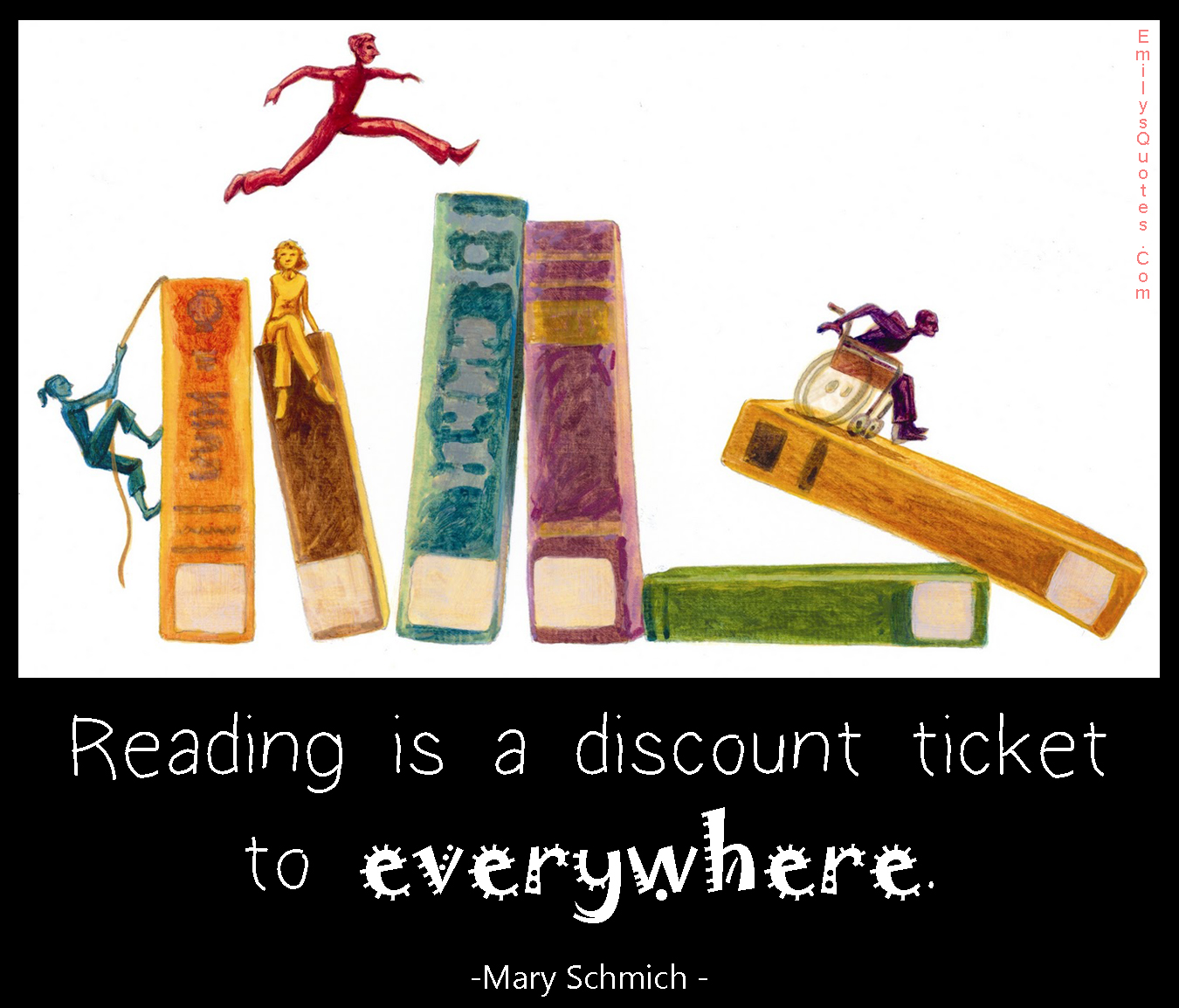 Reading is a discount ticket to everywhere | Popular ...