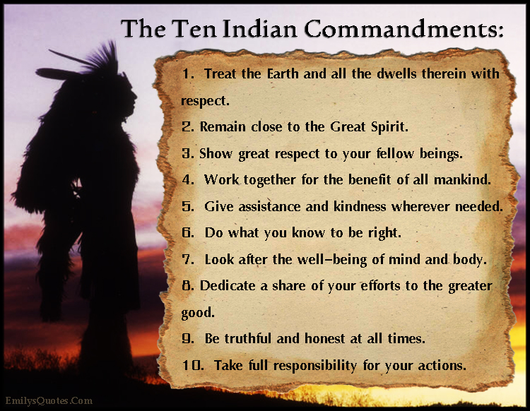 Com   Amazing, Great, Indian, Commandment, Native American, Amazing. U201c