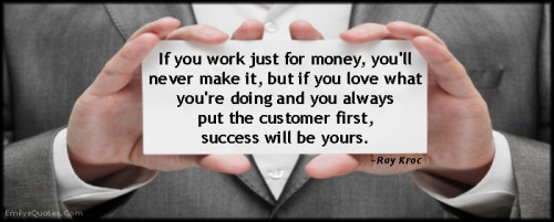 Customer First Quotes. QuotesGram
