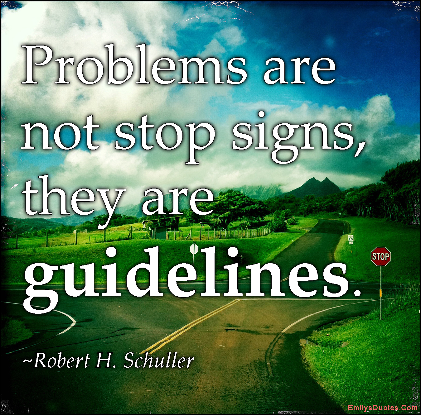 EmilysQuotes.Com - amazing, great, inspirational, motivational, encouraging, attitude, Robert H. Schuller