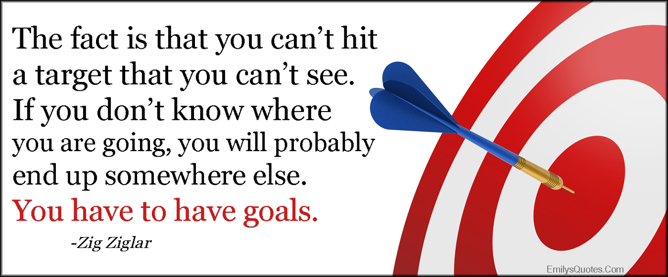 EmilysQuotes.Com - fact, hit target, see, know, goals, motivational, advice, intelligent, inspirational, Zig Ziglar