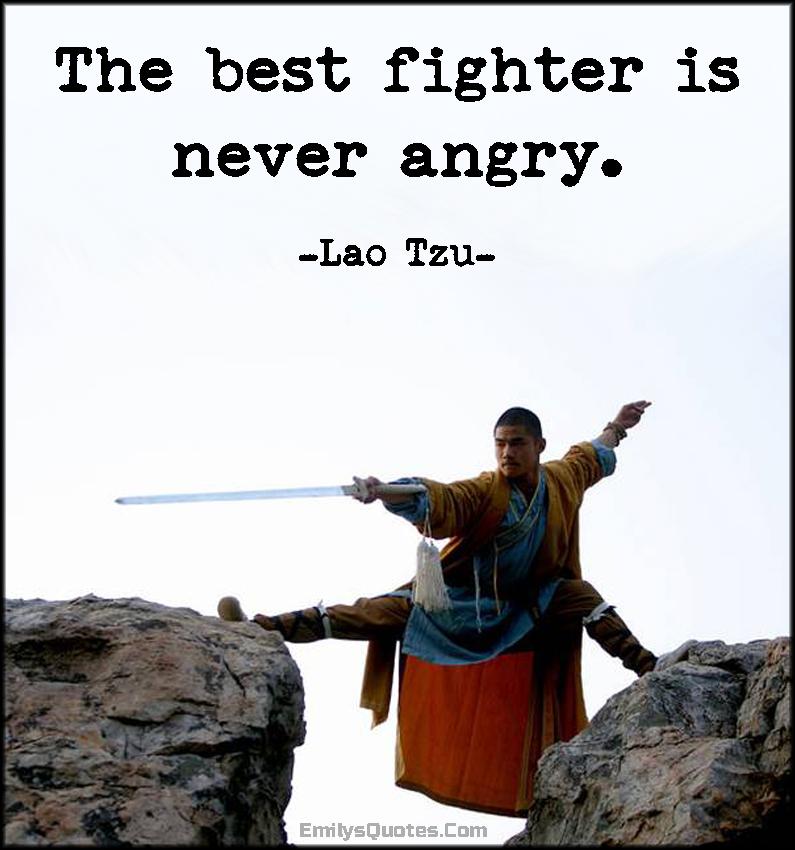EmilysQuotes.Com - wisdom, peace, fighter, anger, control, Lao Tzu