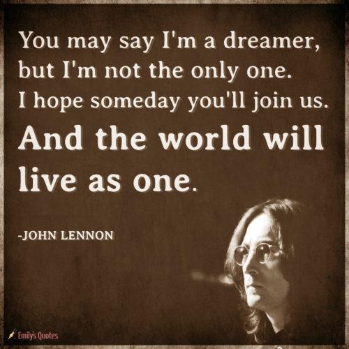 John Lennon Popular Inspirational Quotes At Emilysquotes
