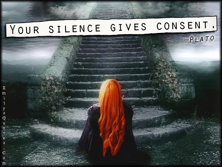 Image result for is silence consent