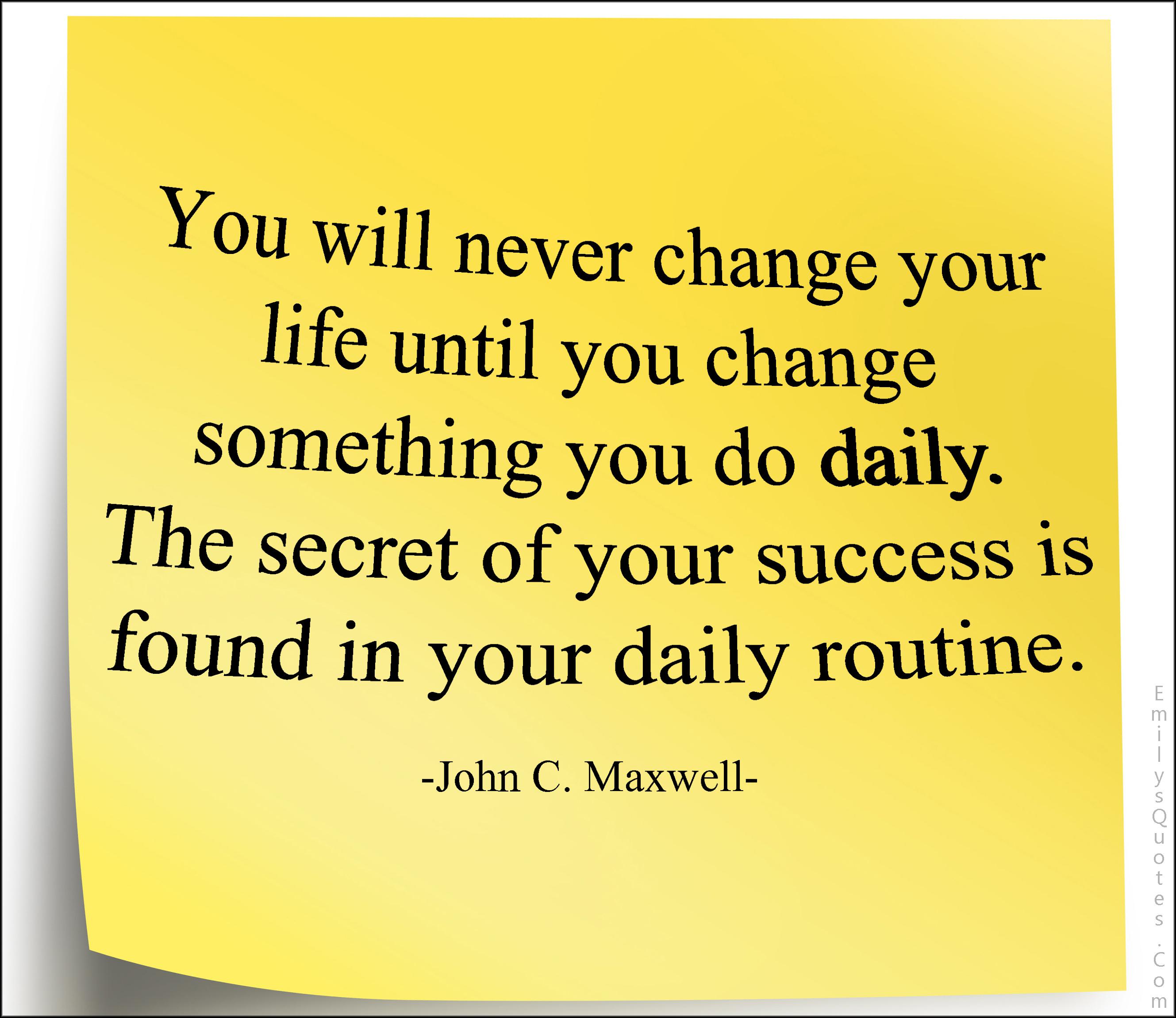 da vinci daily routine